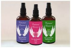 Celestial Essence aura sprays. Clear your aura and space for calm and balance of energies. Beautiful crystal essences, pure essential oils and high vibrational frequencies.