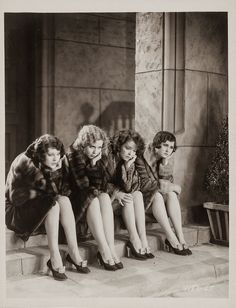 Dorothy Arzner — Directors Marceline Day, Joyce Compton , Clara Bow and Marceline ay in The Wild Party directed by Dorothy Arzner , 1929
