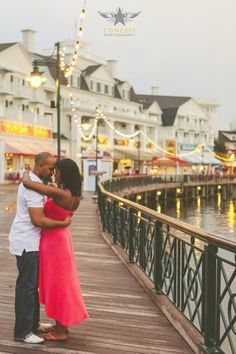 Jessica + John / Sweet Engagement Shoot at Disney's Boardwalk » Concept Photography