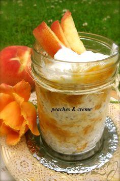 Zain's Swiss Summer Oats -     Peaches & Creme     Complete Recipe: http://www.zainsaraswatijamal.com/site/recipes/zains-swiss-summer-oats-10-signature-flavours/
