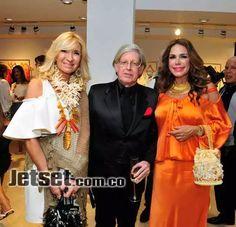 Ana Cris Maldonado, Federico Molinares y Cristina Ruiseco.
