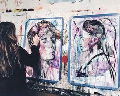 My soul is painting now💟😌 #kategedz#art