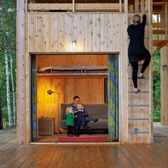 Very cool 'cabin'