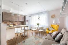 Gyerekszoba, sok tárolóhely, színes dekoráció - 76m2-es lakás, egy fiatal család otthona, az igényekhez hangolva