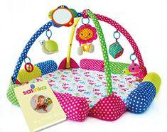 Mr con música y Sonido Fragile Puzzle Fitness Baby Game Blanket Adecuado para bebés recién Nacidos 3-en-1 Music Activity Gym/Crawling Mat