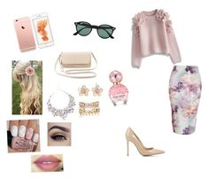 """Без названия #104"" by kristinakotenko on Polyvore featuring мода, Chicwish, Gianvito Rossi, Ray-Ban, Charlotte Russe, Mixit, River Island, Marc Jacobs, Accessorize и women's clothing"