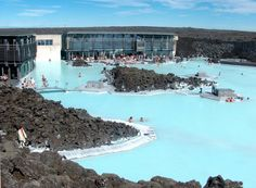 Iceland's Blue Lagoon Resort and Spa Iceland, World's Most Beautiful, Beautiful Places To Visit, Oh The Places You'll Go, Cool Places To Visit, Amazing Places, Blue Lagoon Resort, Blue Lagoon Spa, Vacation Places, Vacation Trips