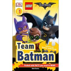 In DK Readers L1: The LEGO® Batman™ Movie, find out about the minifigures, vehicles, and locations of LEGO Batman, while learning to read with support. Perfect for 3-5 year olds learning to read, Level 1 titles contain short, simple sentences with an emphasis on frequently used words. Crisp photographic images with labels provide visual clues to introduce and reinforce vocabulary.<br><br>The LEGO The Batman Movie Team Batman: Reader Level 1 Book Features:<br&g...