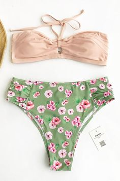 Sweet Cherry Halter Bikini Set