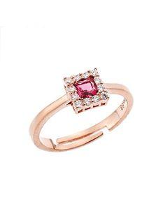 ... 021921 Ένα πανέμορφο δαχτυλίδι ροζέτα που μπορείτε να προσφέρετε σε μια  γυναίκα κάθε ηλικίας κατασκευασμένο από Ασήμι 925 σε ροζ χρώμα.Οι πέτρες  που ... 756061c4573