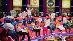 Artıq ənənə halına gələn Uşaq Gününü ötən şənbə günü Bravo Hipermarketdə yox, Maşın Şou-da keçirdik. 7 oktyabrda keçirilən Uşaq Günündə müsabiqələrin qalibi olan kiçik dostlarımız bu dəfə əyləncəni Maşın Şou ulduzları ilə birlikdə yaşamaq şansı əldə etdi.  Last Saturday we held traditional Kids Day at Mashin Show instead of Bravo Hypermarket. Our little friends who were the winners of the contests of the Kids Day event on October 7 got the chance to have fun with the celebrities of the show.
