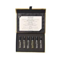 Discovery Kit 6 x Parfum Musc, Perfume Parfum, Hermes Perfume, Best Perfume, Perfume Oils, Perfume Bottles, Perfume Packaging, Cosmetic Packaging, Beauty Packaging