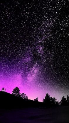 Night sky wallpapers – Page 10 Night Sky Wallpaper, Wallpaper Space, Star Wallpaper, Cute Wallpaper Backgrounds, Pretty Wallpapers, Purple Galaxy Wallpaper, Bokeh Wallpaper, Mobile Wallpaper, Iphone Wallpaper