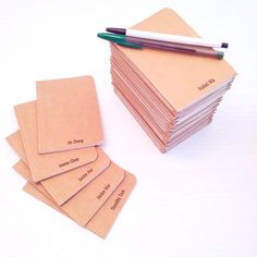 how to make custom notebooks