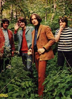 The Kinks - Just putting this out there, I'm not a Beatles fan, I just think The Kinks were miles better