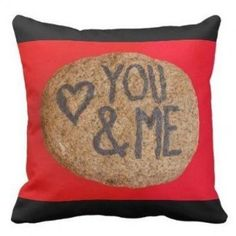 YOU&ME PILLOW - home gifts cool custom diy cyo Diy Christmas Gifts For Boyfriend, Boyfriend Gifts, Valentine Day Gifts, Valentines, Romantic Wedding Gifts, Wedding Decor, Gifts Love, Love Girlfriend, Boyfriend Birthday