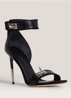 #Givenchy - Buckle-detail high-heel sandals High Heels #2dayslook #High #Heels #fashion #nice #new www.2dayslook.com