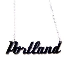 Fab.com | My design inspiration: Portland Necklace on Fab.
