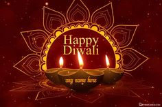 Want to create a Diwali greeting video in the most unique way? Diwali greeting video maker with name, personalize diwali greeting video with your name for free. Wishing you beautiful moments in Diwali by decorating unique shimmering Diwali videos with lit diya lights and names of friends and relatives. Share this video for free on Whatsapp, twitter, ... Happy Diwali Wishes Images, Happy Diwali Wallpapers, Diwali Images With Quotes, Diwali Greetings Images, Happy Diwali Status, Best Diwali Wishes, Diwali Quotes, Diwali Gif, Diwali Cards