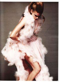 """Über-Sinnlich"" : Julia Saner, Anais Pouliot, and more : Vogue Germany May 2011 : Greg Kadel"