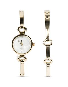 Watch & Bracelet Set - cos you deserve everything, you desire