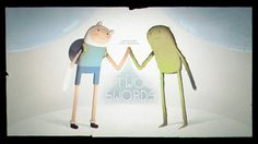 Adventure Time | Title cards designed by Michael DeForge, Laura Knetzger, Charmaine Verhagen, Sam Alden, James Baxter, and Aleks Sennwald, painted by Joy Ang