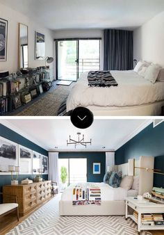 Bedroom Renovation Before And After modern eclectic bedroom: before and after | bedrooms, modern and