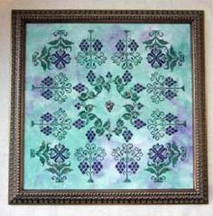 Wine Country - Cross Stitch Pattern by Keslyns