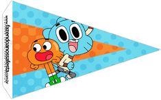 Bandeirinha Sanduiche 2 o Incrível Mundo de Gumball