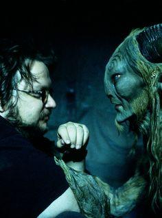 Guillermo del Toro (Spanish dark fantasy director: Cronos [1993], El Espinazo del Diablo [The Devil's Backbone, 2001], Hellboy [2004],  El Laberinto del Fauno [Pan's Labyrinth, 2006], Pacific Rim [2013]).