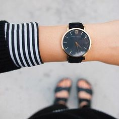 Cute women's watch for work, goes well with a sweater or blouse for work | Skirt The Ceiling | skirttheceiling.com