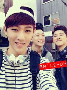 Donghyuk & BI with Bobby Teen Top Cap, Bobby, Yg Ikon, Lee Hi, Winner Ikon, Kim Ji Won, Hip Hop And R&b, Kim Hanbin, 2ne1