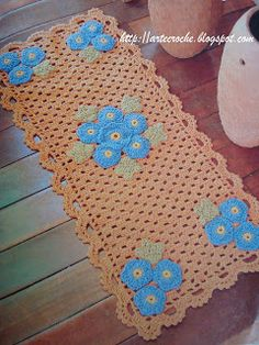 """Crochet Mania"": Rugs"