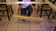 The 'Pendulum Wave Effect'. Also, I love physics! - 9GAG