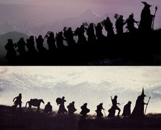 The best two silhouettes in the history of everything.