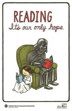 READING ... it's our only hope.