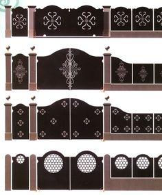 lazer kesim  bahçe kapısı modelleri Home Gate Design, Steel Gate Design, Front Gate Design, Main Gate Design, House Front Design, Wrought Iron Garden Gates, Metal Gates, Grill Gate, Tor Design
