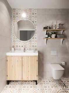 Simplicity Utility and BeautyDefine Scandinavianinspired Bathrooms. Simplicity utility and beauty are all. Lightroom, Adobe Photoshop, Apartment Interior, Interiores Design, Home Remodeling, Mirror, House, Behance, Furniture