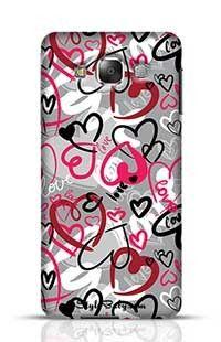 Love-Print Samsung Galaxy E7 Phone Case