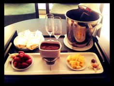 By others (chocolate fondue - Tróia  Design Hotel)