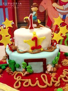 Cake at a Cowboy Party #cowboyparty #cake