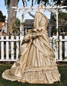 Mina Dracula Victorian Bustle Gown Lower Price Version Custom. $800,00, via Etsy.