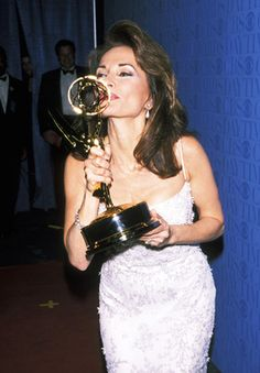 Winner: Lucci finally won a Daytime Emmy for Outstanding Lead Actress in a Drama Series in after being nominated for 21 years and not walking away with the prize Susan Lucci, Cult Of Personality, The Emmys, Soap Stars, Young And The Restless, Hollywood Star, Drama Series, Best Actress, Most Beautiful Women