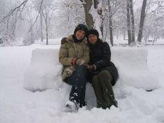 Le regine delle nevi. Al Parco Lambro.