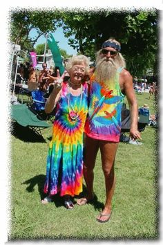 Hippie- You're never to old to be whoever you want! :) True That!