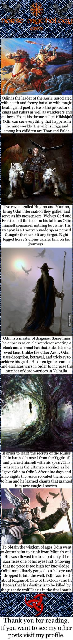 Norse mythology - Odin More