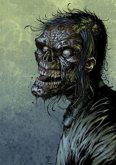 Horrifying and Spooky Zombie Artworks | Dzineblog360