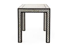 Gorgeous Bone Inlay Accent Table (OneKingsLane.com)