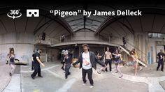Pigeon - James Delleck [360 video clip]
