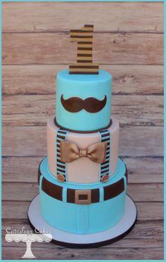 Little Man Cake www.facebook.com/i.love.cuteology.cakes